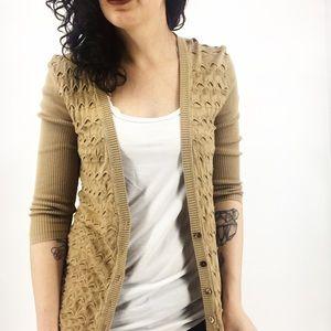 Trina Turk : Knit Cardigan Size Small